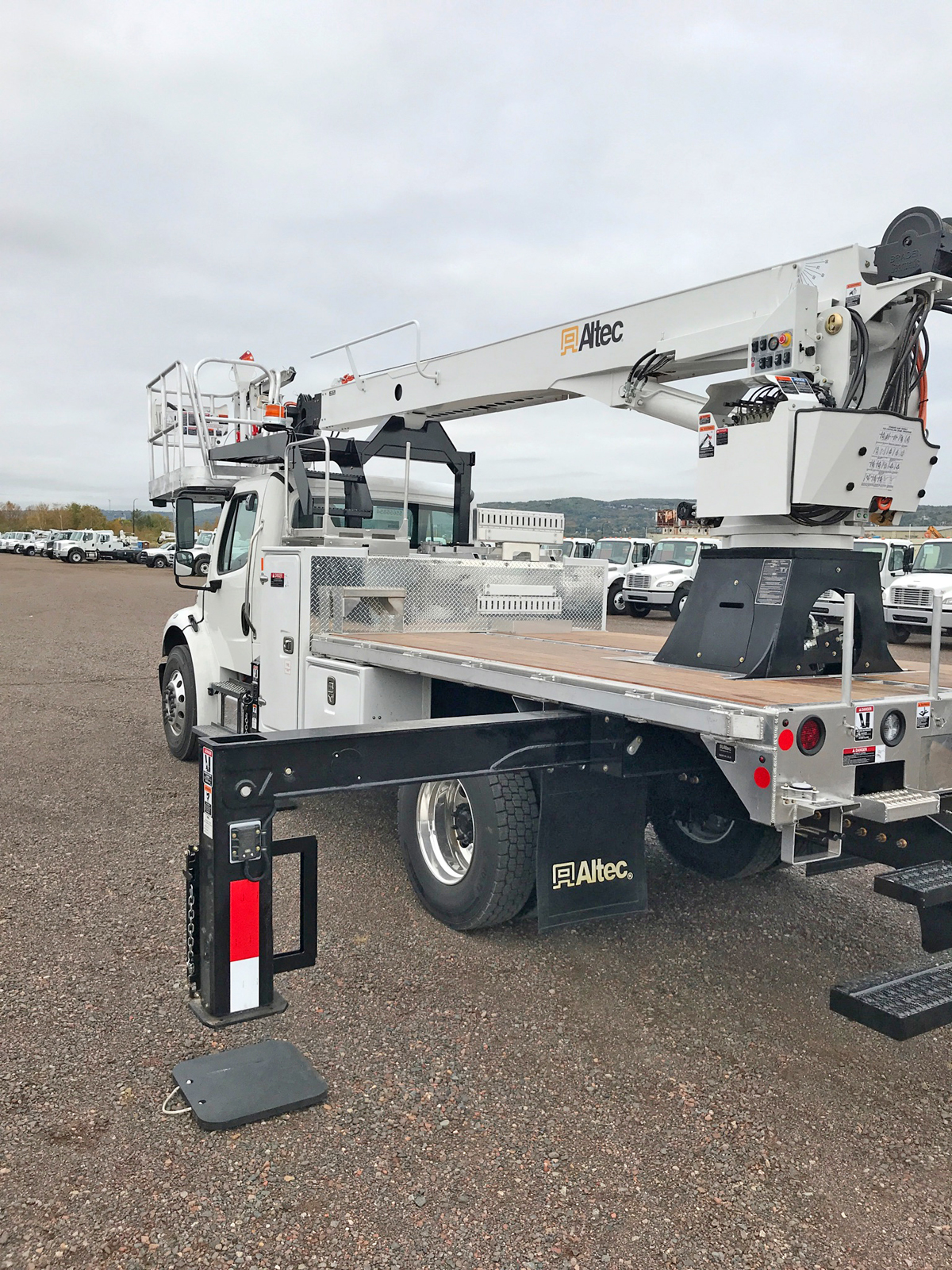 Media 1/Wrap This' new bucket truck.