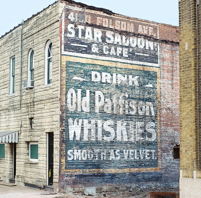 Ghost Sign Unearthed in St. Louis