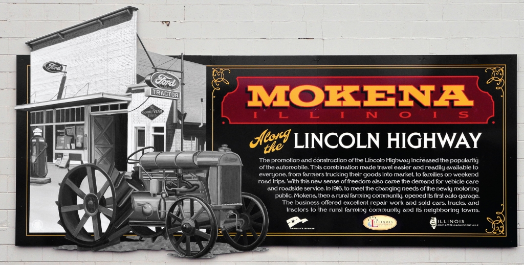 Handpainted Murals Reflect Lincoln Highway Legacy