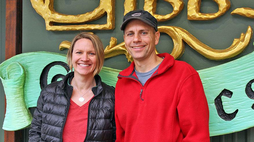 Rusty and Amanda Gibbs