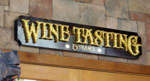 Wine-Tasting mural