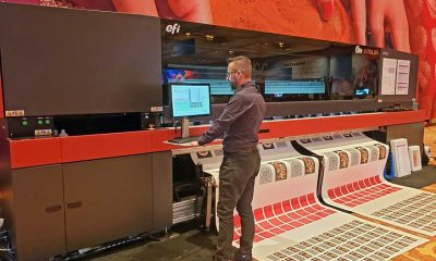 The 138-in. D3r and 205-in. D5r are roll-to-roll machines that print up to 1,200 dpi, and process media up to 2,196 sq. ft./hr. (D3r) and 2,626 sq. ft./hr. (D5r).