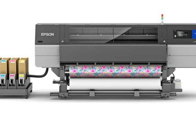 This 76-in. industrial dye-sub printer processes media up to 2,700 sq. ft./hr.