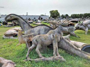 FAST Fiberglass headquarters is home to hundreds of fiberglass-statue-molds.
