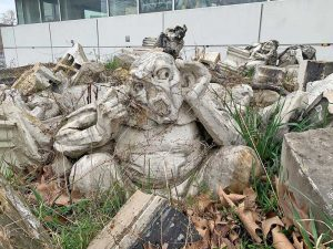 """The original """"grotesques"""" from the City College of New York."""