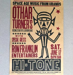 Music posters have tempted concert-goers to attend shows for decades. Design by Yee-Haw Industries.