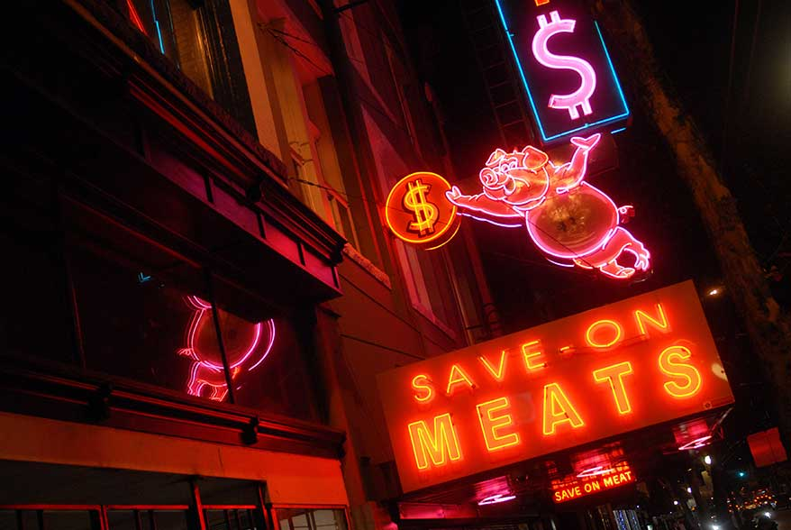 Neon Pig Vancouver