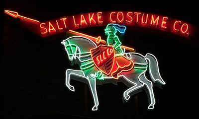 Salt Lake Costume Neon lights