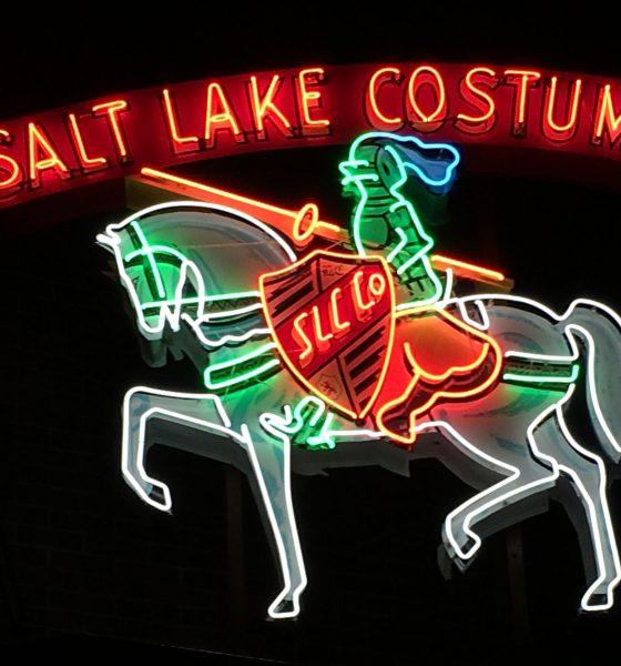 Salt Lake Costume Neon lights
