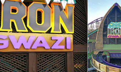 Iron-Gwazi signage