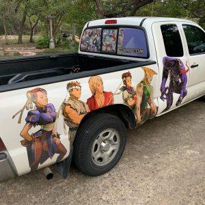 Joel's truck
