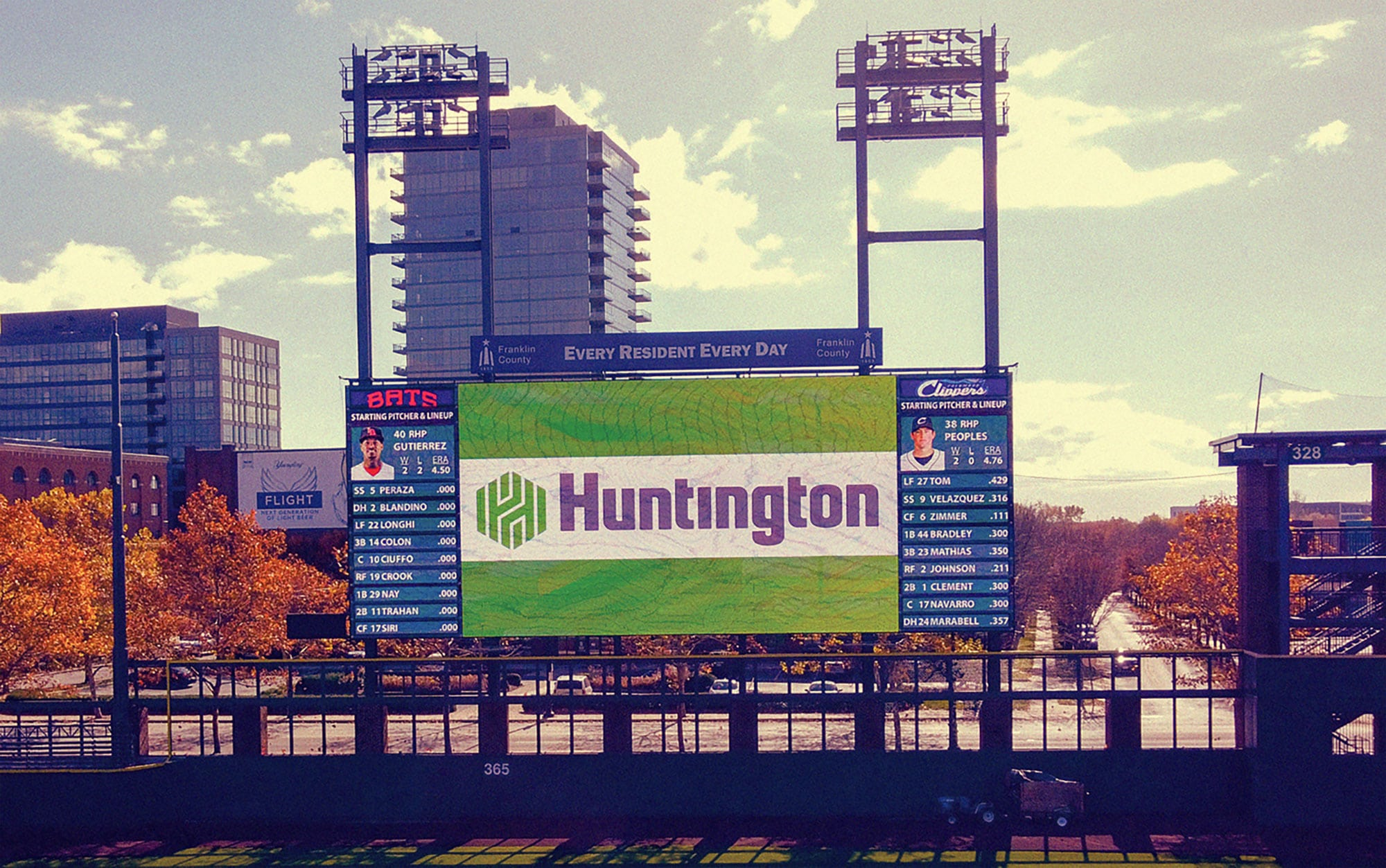 The Columbus Clippers minor league baseball team's scoreboard recently got a major upgrade thanks to DNite Sign Co.'s (Columbus, OH) install of a high-resolution Daktronics EMC.