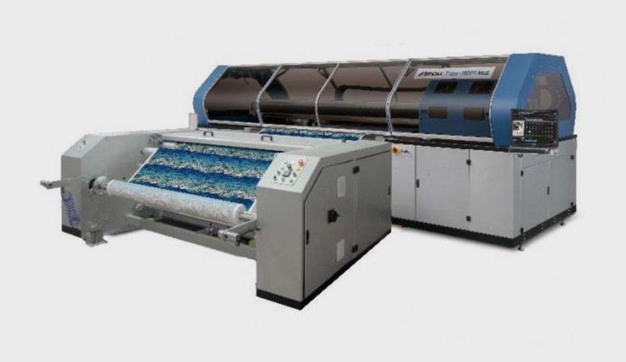 Tiger-1800B Mk III, a high-speed textile inkjet printer from Mimaki USA