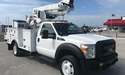 2014 Ford F550 4x4 Altec AT40M