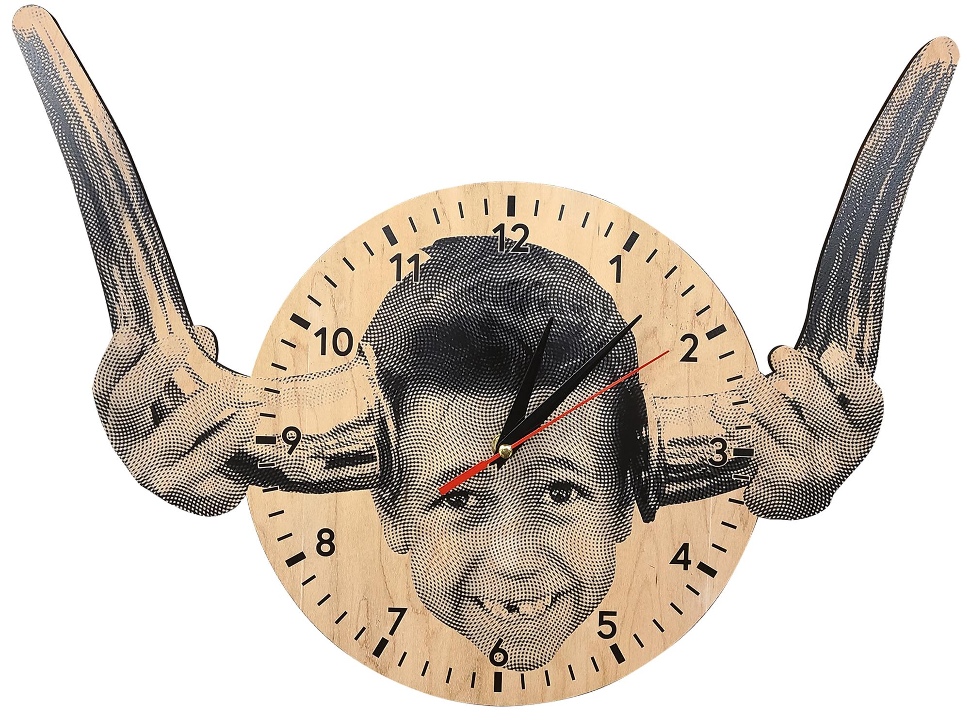 Vinylbomb (Hamilton, NJ), uses their Trotec Speedy 400 laser engraver to create one-of-a-kind custom clocks with photos and logos engraved into them.